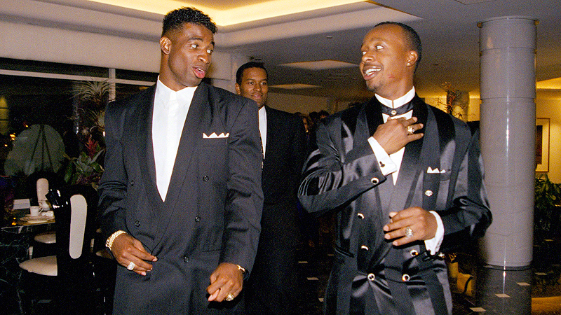 Deion Sanders and MC Hammer