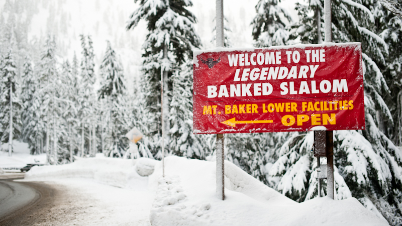 Welcome to Mt. Baker