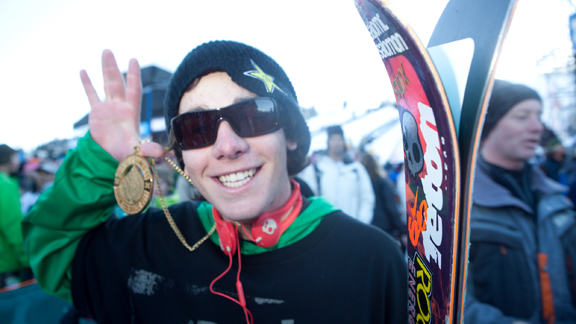 You won't see this face at Winter X Europe next week. He'll be skiing powder instead.