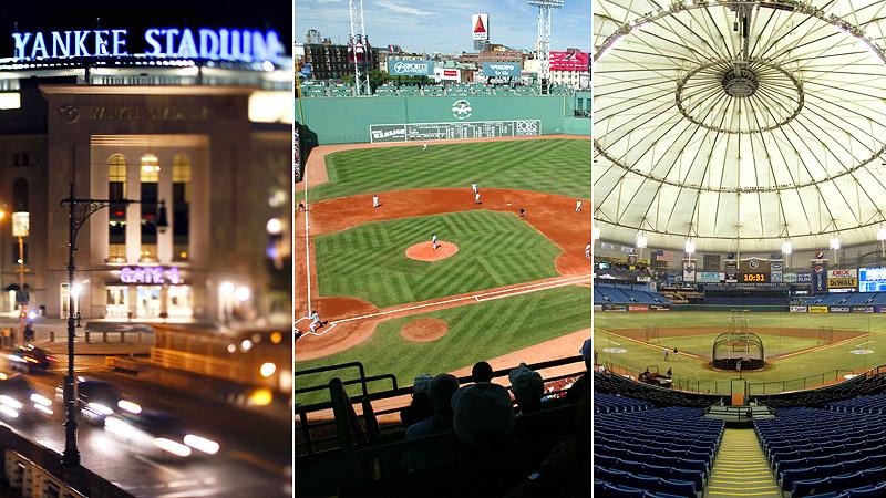 AL East Stadiums