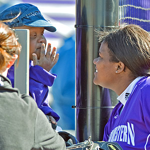 As an 11-year-old, Michala Batts is the unofficial youngest member of the Wildcats.