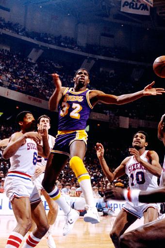 Magic vs 76ers, Game 6 1980 NBA Finals