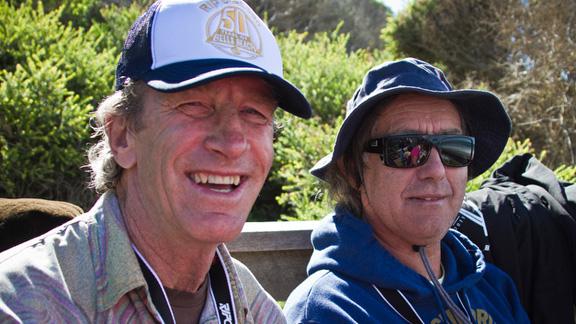 Nat Young and Doug Warbrick