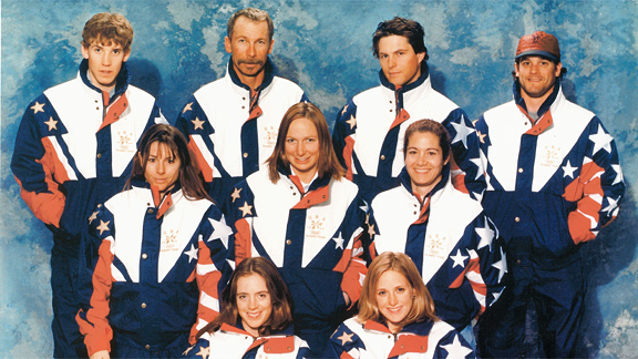1998 Olympic snowboard team