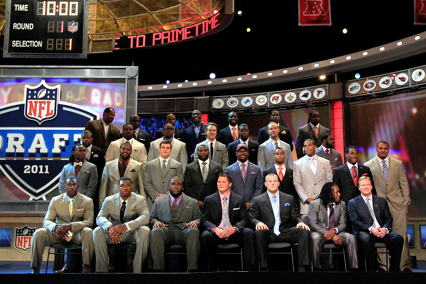 2011 Draft class and the 2011 Pro Football Hall of Fame class