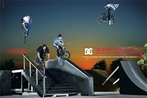 DC Shoes added a plethora of new names to their team roster this week, making future ads such as this one a coordination nightmare.