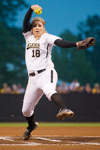 Missouri is the favorite in the Columbia Regional, but without much pitching depth, the Tigers will rely heavily on Chelsea Thomas.