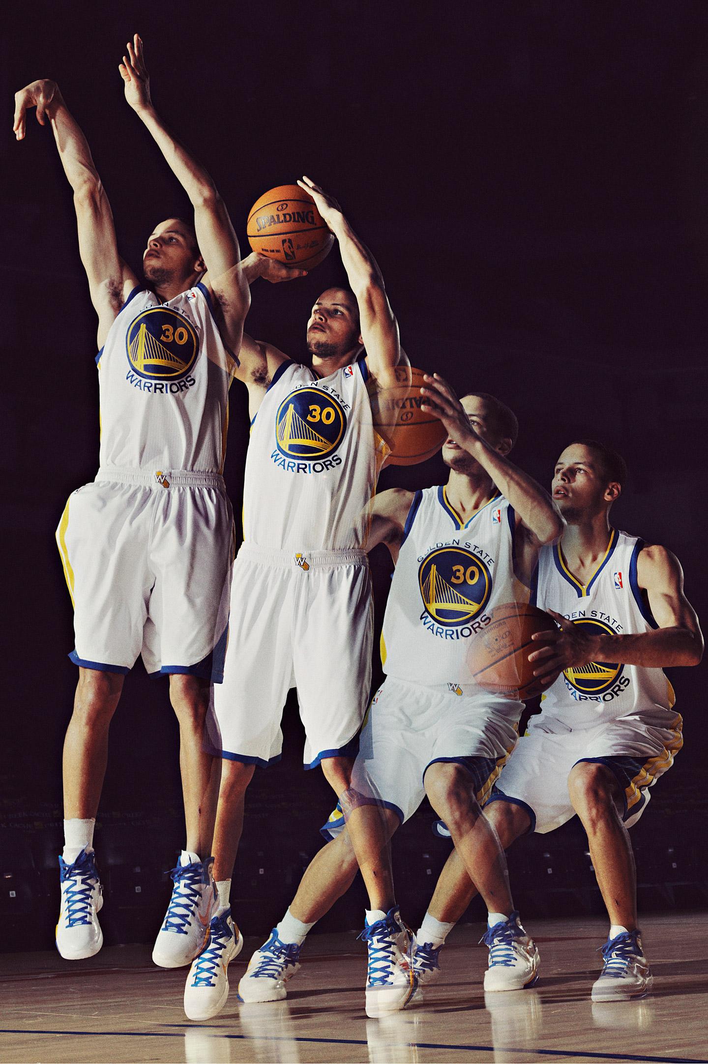 Best mechanics in sports: Jump shot by Stephen Curry, Golden State Warriors