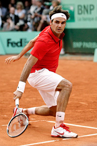 At 29, the third-seeded Roger Federer is seeking his seventh Wimbledon title.