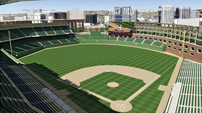 A's Stadium Renderings