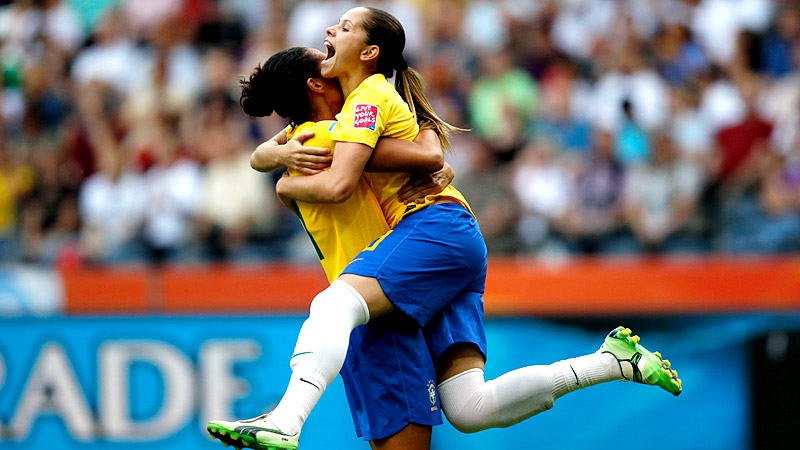 Brazil at Equatorial Guinea