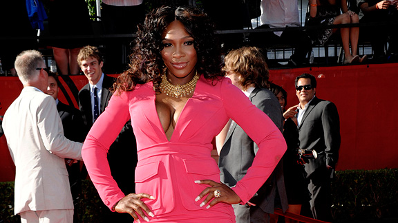 Serena Williams, who wowed at the ESPYs, is as much celebrity and brand as tennis player.