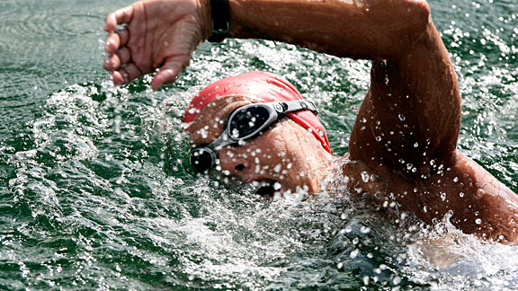 What do you think about during a nine-hour training swim? The open-water swimmer lets us in on the extreme loneliness that accompanies long-distance swimming.
