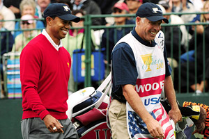 Tiger Woods has split from caddie Steve Williams, who was on the former world No. 1's bag since 1999.