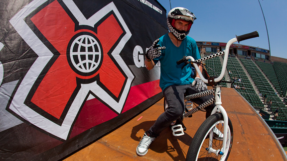 BMX Big Air finals start at 7 p.m. PT.