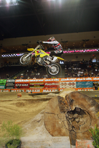 Ryan Hughes racing EnduroCross in 2005.
