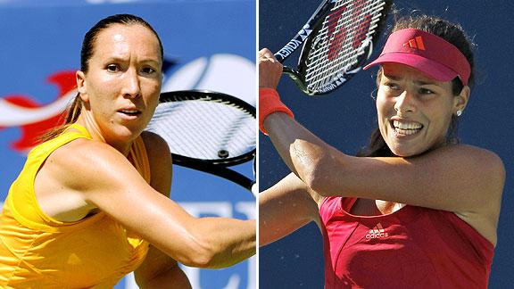 Jelena Jankovic and Ana Ivanovic