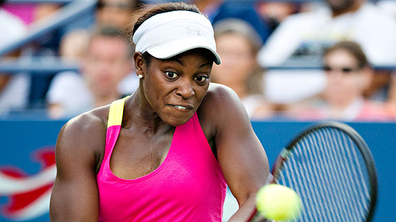 Sloane Stephens, an 18-year-old from Fort Lauderdale, upset Israel's Shahar Peer in the second round Thursday.
