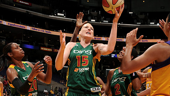 Since Lauren Jackson returned from her hip injury, Seattle has won eight of nine games.