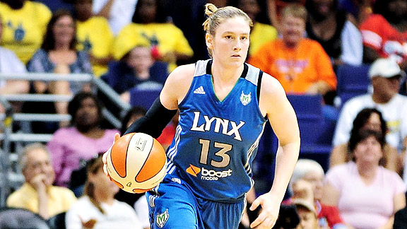 Lindsay Whalen has helped lead Minnesota to the best record in the league.