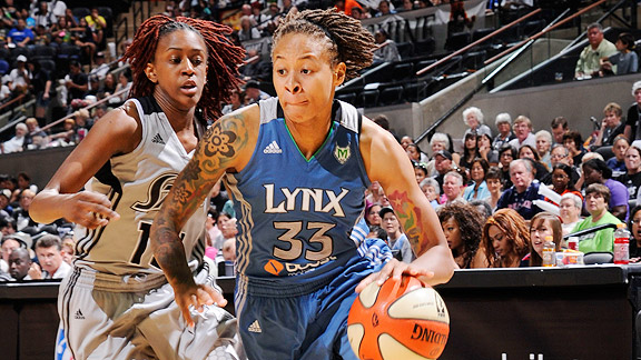 Always a big-time scorer, Seimone Augustus is embracing the role of shutdown defender.