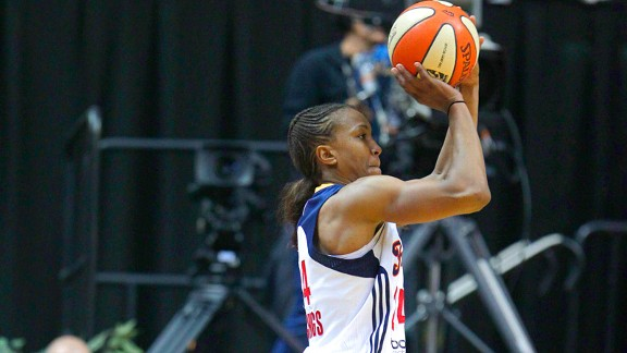 Tamika Catchings finished the season by averaging 10 points per game in the playoffs.