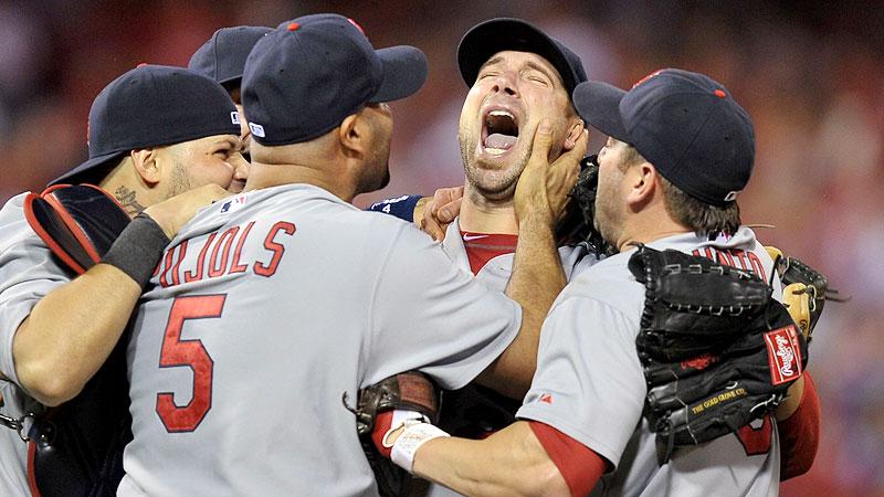 Cardinals celebrate