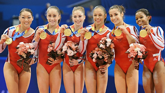U.S. gymnastics team