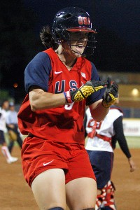 Kaitlin Cochran is one of only two holdovers from the 2010 world championship team competing at the Pan Am Games (Ashley Holcombe is the other).