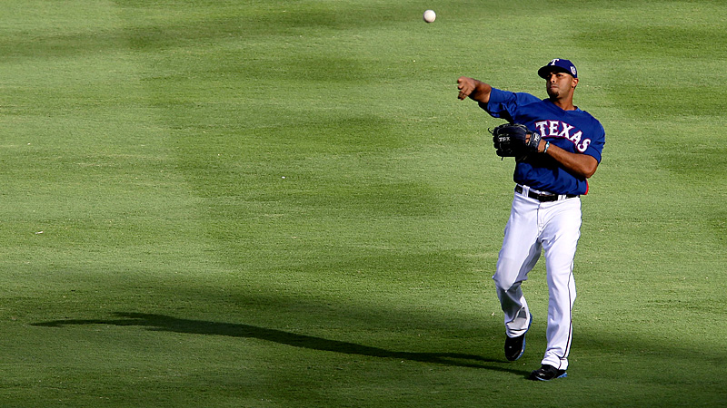 Best outfield arm: Nelson Cruz