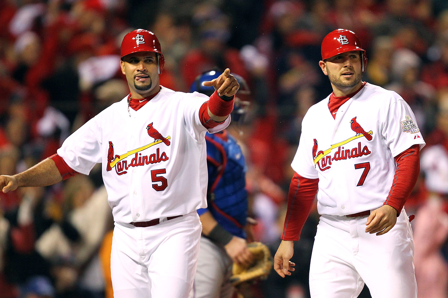 Albert Pujols and Matt Holliday