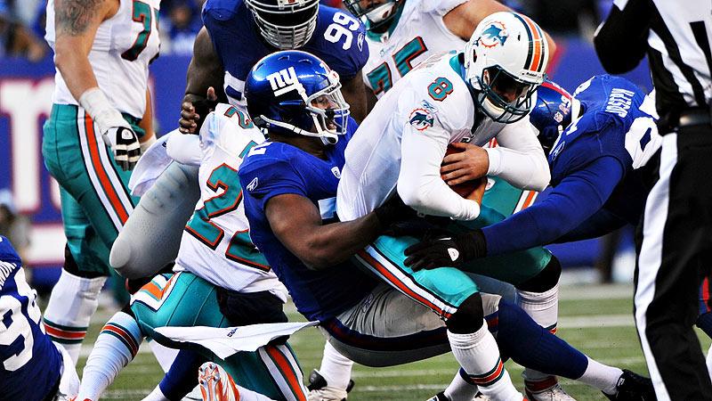 Giants Defensive Tackle