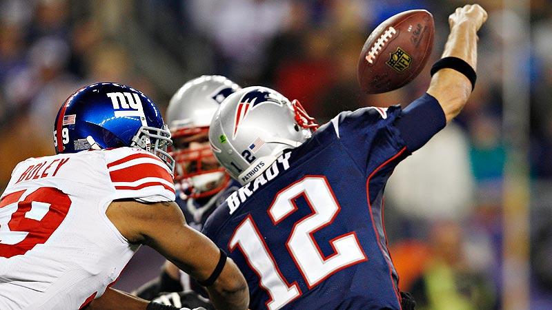 Brady turns it over three times