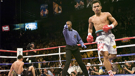 Manny Pacquiao versus Juan Manuel Marquez