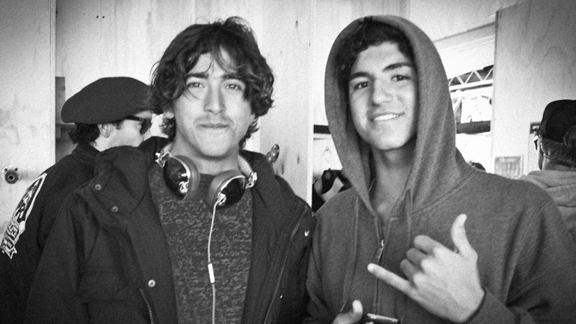 Miguel Pupo and Gabriel Medina