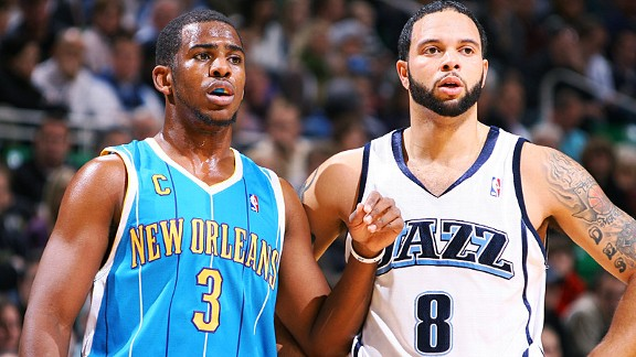 Chris Paul and Deron Williams