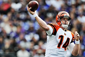 Cincinnati's Andy Dalton has had just one interception since Week 11 and will help the Bengals prove they belong in the postseason.