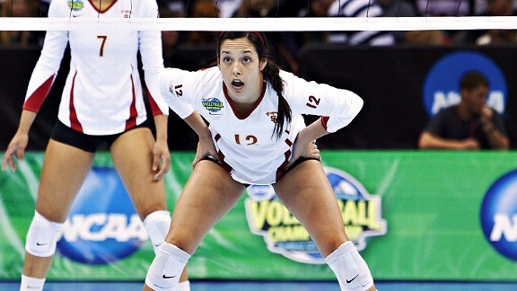 Senior Kendall Bateman will lead USC, ranked No. 1 in the last coaches' poll, against No. 3 Hawaii and its huge supporting crowd in the Honolulu semifinals.
