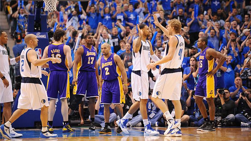 Mavericks beat Lakers