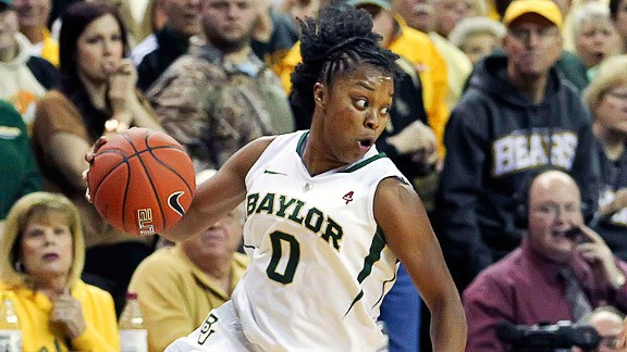 Odyssey Sims' outside shooting complements Brittney Griner's inside dominance for top-ranked Baylor.