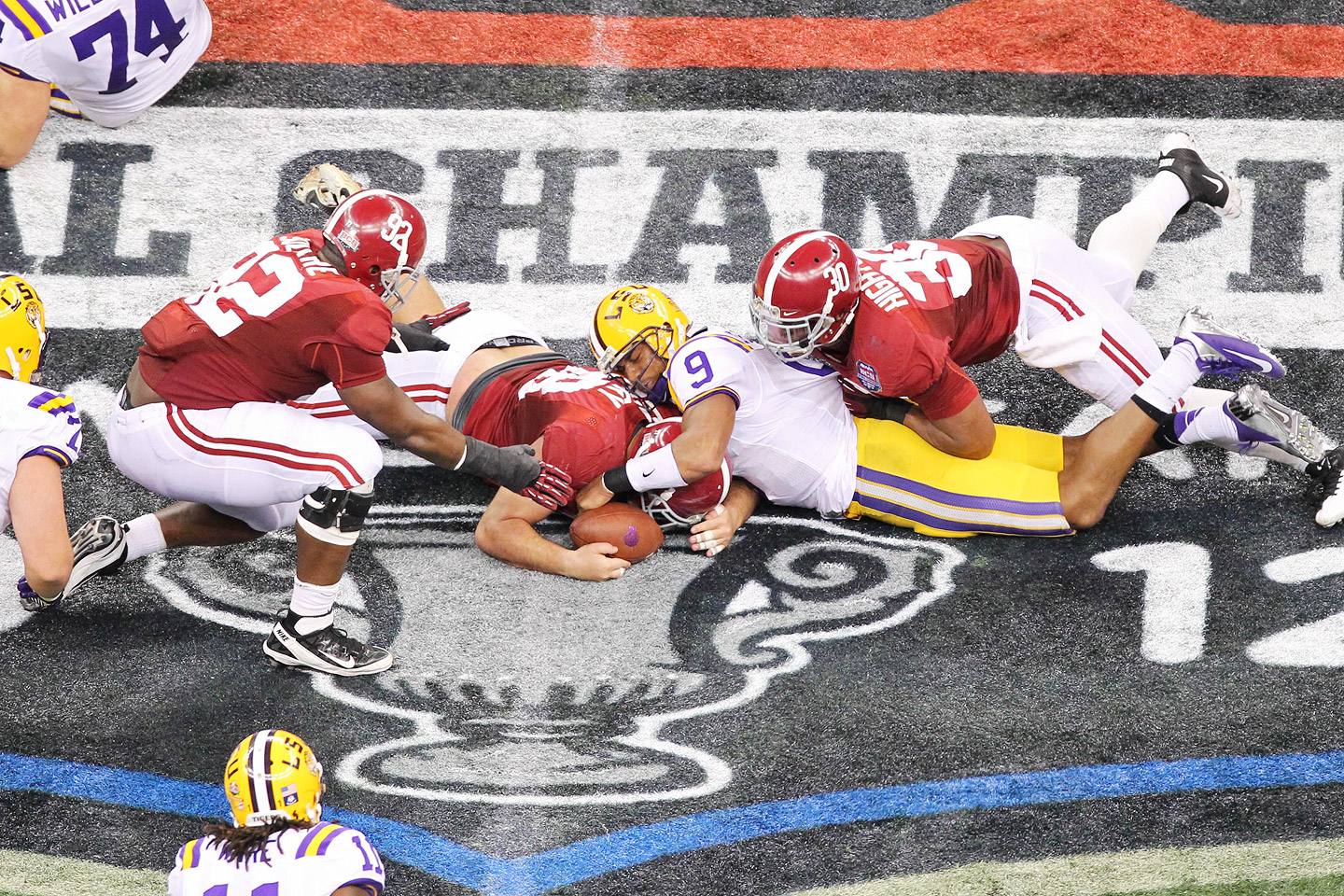 LSU Fumble