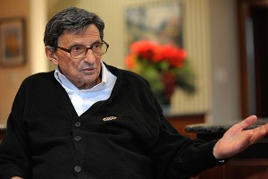 Former Penn State coach Joe Paterno was interviewed last Thursday and Friday by The Washington Post at his home in State College, Pa.