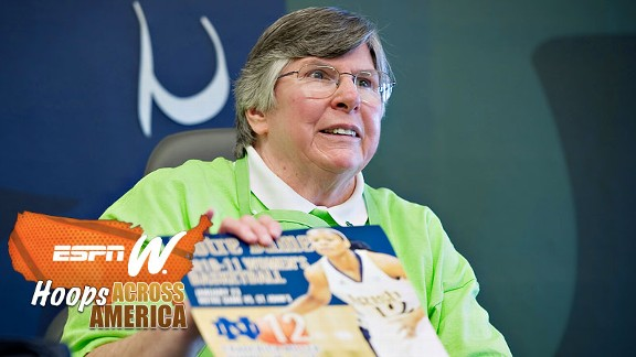 Patricia McAdams, a 70-year-old former nun, is the heart and soul of the volunteer force.