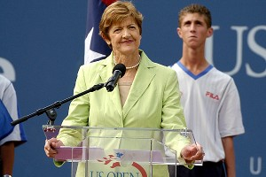 In response to Margaret Court's recent comments, some have called to have her named removed from one of the Australian Open show courts, but Billie Jean King, among others, has dismissed such suggestions.