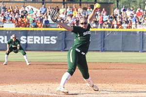 Whitney Canion's lengthy career at Baylor will come to an end in the WCWS.