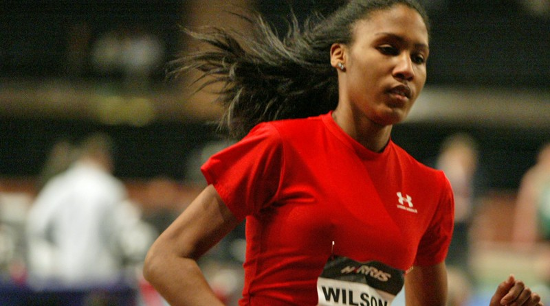 US Open High School events - Ajee Wilson