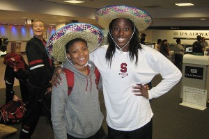 Amber Orrange and Chiney Ogwumike are the lucky winners of the sombreros, awarded to the leading rebounder and best in field goal percentage over the weekend.