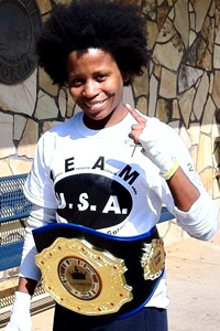 Olympic hopeful Taversha Norwood's mom told her, You should never start a fight, but you always finish it.