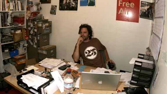 Ron Wilkerson at the current 2hip headquarters in Santa Cruz, Calif.