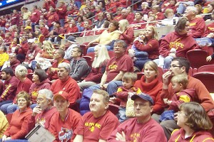 Before Bill Fennelly arrived at Iowa State, attendance averaged 733; now it's up to 10,034, second in the NCAA.